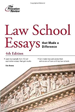 Law School Essays That Made a Difference, 4th Edition 9780375427862