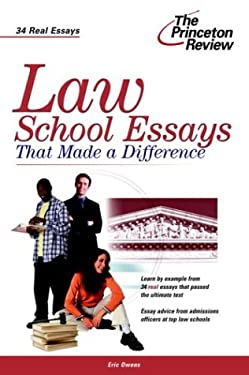 Law School Essays That Made a Difference 9780375763458