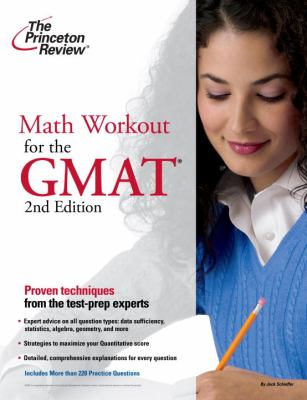Math Workout for the GMAT 9780375764639