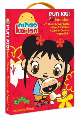 Ni Hao, Kai-lan Fun Kit! [With Sticker(s) and Crayons and Punch-Out(s) and 3 Paperbacks] 9780375863622
