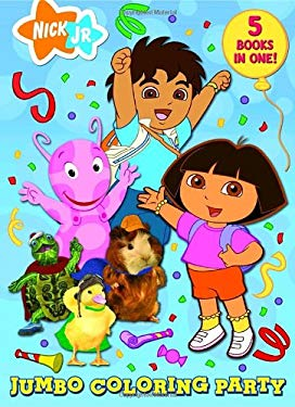 Nick JR. Jumbo Coloring Party by Golden Books ...