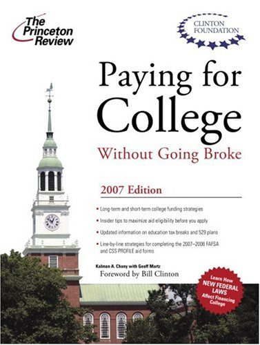 Paying for College Without Going Broke 9780375765674