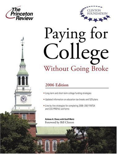 Paying for College Without Going Broke 9780375765025