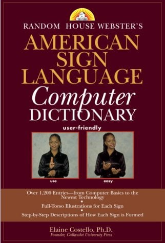 Random House Webster's American Sign Language Computer Dictionary 9780375719424