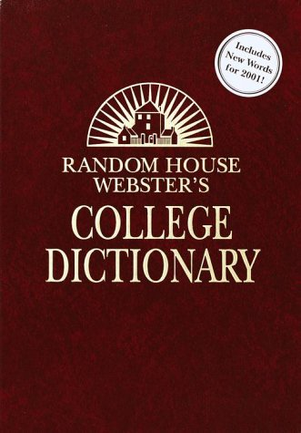 Random House Webster's College Dictionary: Second Edition (Deluxe Leather-Look Ed) Kraft Based
