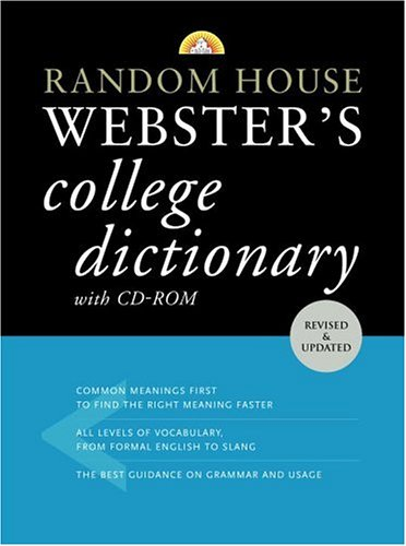 Random House Webster's College Dictionary [With CDROM]