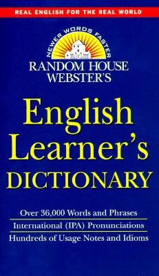 Random House Webster's English Learner's Dictionary 9780375706257