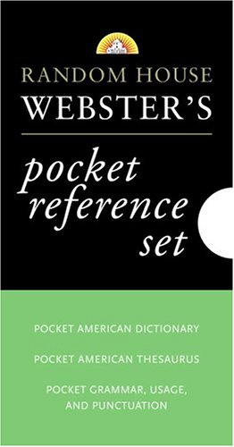 Random House Webster's Pocket Reference Boxed Set 9780375721243