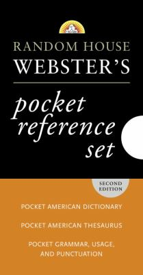 Random House Webster's Pocket Reference Set 9780375722738