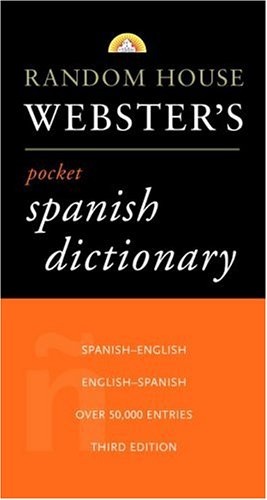 Random House Webster's Pocket Spanish Dictionary 9780375705663