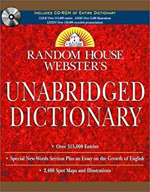 Random House Webster's Unabridged Dictionary Book & CD-ROM Set