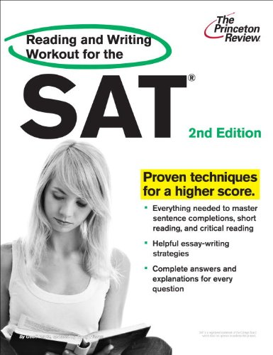 The Princeton Review Reading and Writing Workout for the SAT 9780375428326