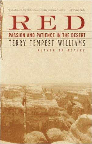 Red: Passion and Patience in the Desert 9780375725180