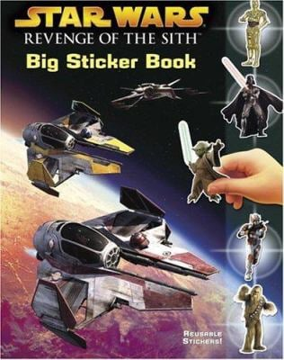 Revenge of the Sith Big Sticker Book 9780375826146