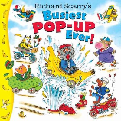 Richard Scarry's Busiest Pop-Up Ever! 9780375841200