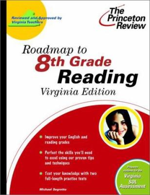 Roadmap to 8th Grade Reading, Virginia Edition 9780375756023
