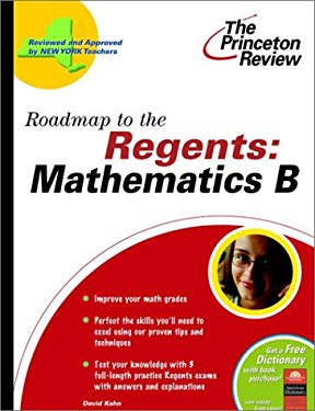 Roadmap to the Regents: Mathematics B 9780375763144
