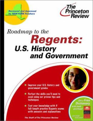 Roadmap to the Regents: U.S. History & Government 9780375763151