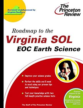 Roadmap to the Virginia Sol: Eoc Earth Science 9780375764417