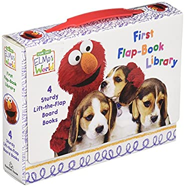 Elmo's World: First Flap-Book Library (Sesame Street) 9780375845123