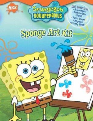 Sponge Bob Art Kit 9780375830433