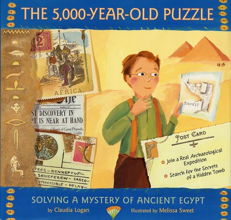 The 5,000-Year-Old Puzzle: Solving a Mystery of Ancient Egypt 9780374323356
