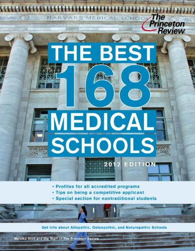 The Best 168 Medical Schools 9780375427374