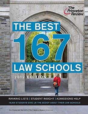 The Best 167 Law Schools 9780375427381