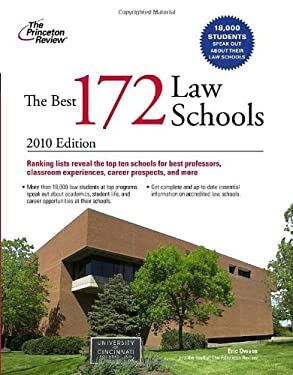 The Best 172 Law Schools 9780375429583