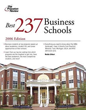 The Best 237 Business Schools 9780375765001