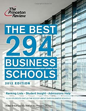The Best 294 Business Schools 9780375427404