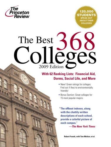 The Best 368 Colleges 9780375428722