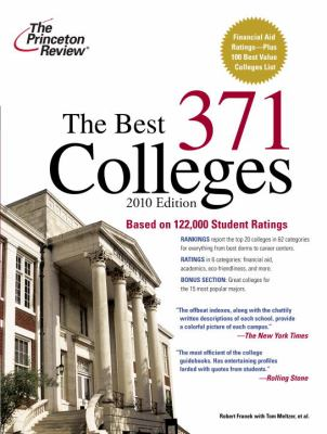 The Best 371 Colleges 9780375429385