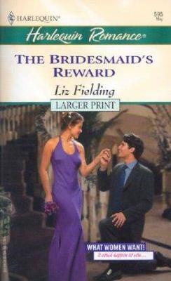 The Bridesmaid's Reward 9780373159956