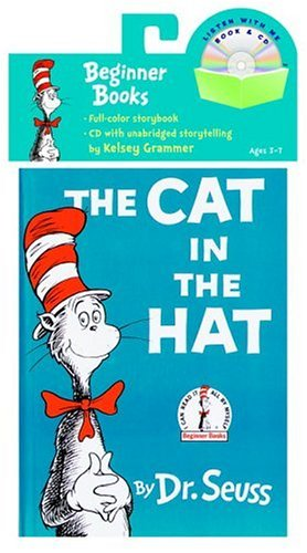 The Cat in the Hat Book [With CD] by Dr Seuss
