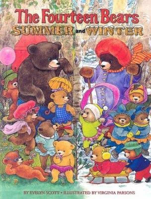 The Fourteen Bears Summer and Winter 9780375932793