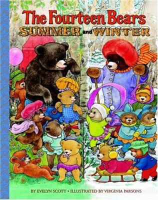 The Fourteen Bears in Summer and Winter 9780375832796