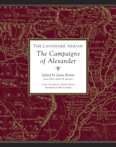 The Landmark Arrian: The Campaigns of Alexander: Anabasis Alexandrou 9780375423468