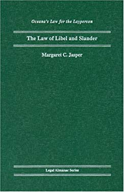 The Law of Libel and Slander 9780379111972