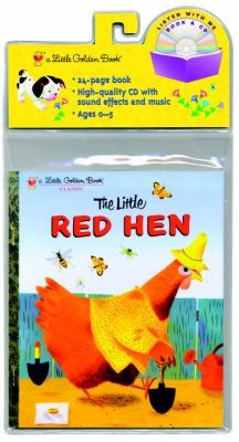 The Little Red Hen Little Golden Book and CD [With CD (Audio)] 9780375840098