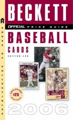 The Official Beckett Price Guide to Baseball Cards 9780375721014