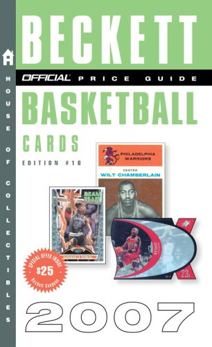 The Official Beckett Price Guide to Basketball Cards 9780375721816