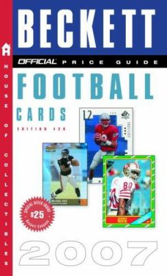 The Official Beckett Price Guide to Football Cards