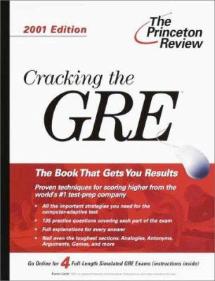 The Princeton Review Cracking the GRE 9780375756252