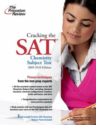 The Princeton Review Cracking the SAT Chemistry Subject Test 9780375429064