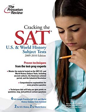 The Princeton Review Cracking the SAT U.S. & World History Subject Tests 9780375429088