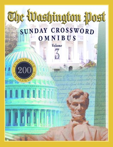 The Washington Post Sunday Crossword Omnibus, Volume 3 9780375721878