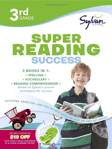 Third Grade Super Reading Success (Sylvan Super Workbooks) 9780375430060