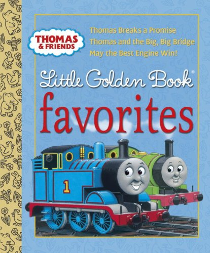 Thomas & Friends Little Golden Book Favorites 9780375855542