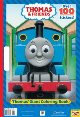 Thomas' Giant Coloring Book (Thomas & Friends) 9780375847257